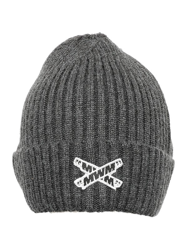 MWM - Cross Logo Wool Beanie