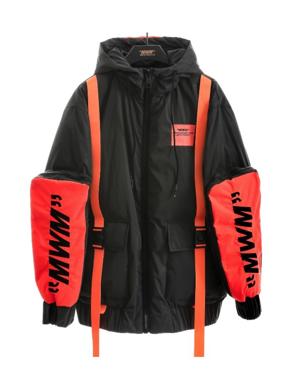 MWM - Man Reflective Utility Pockets Coat