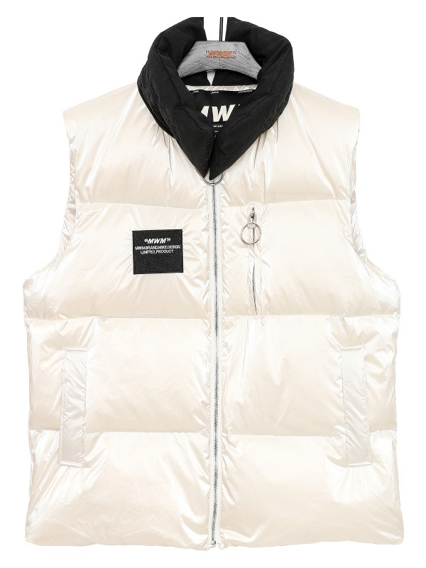 MWM - Men's Satin Feather Vest
