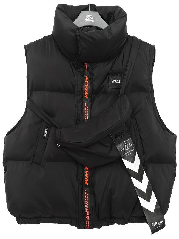 MWM - Feather Vest - ZIPPER VEST
