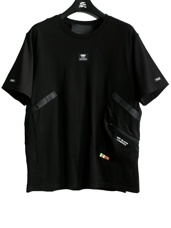 MWM - Black Technical Tee - OBF Capsule