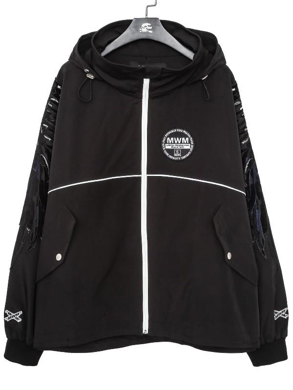 MWM - Man Hooded Wings Jacket