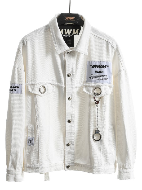 MWM - Man Vintage Handcuff Denim Jacket