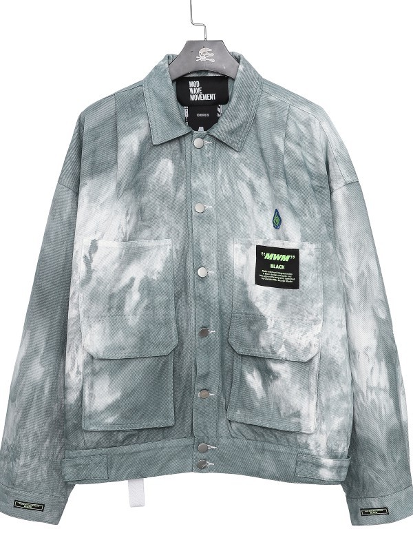 MWM - Man Vintage Bleached Denim Jacket