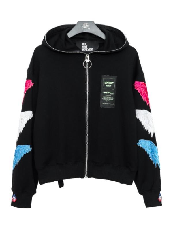 MWM - Woman Zip Cropped Hoodie