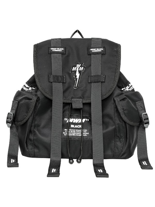 "MWM - ""TOO COOL FOR SCHOOL"" Multi-pocket Backpack"