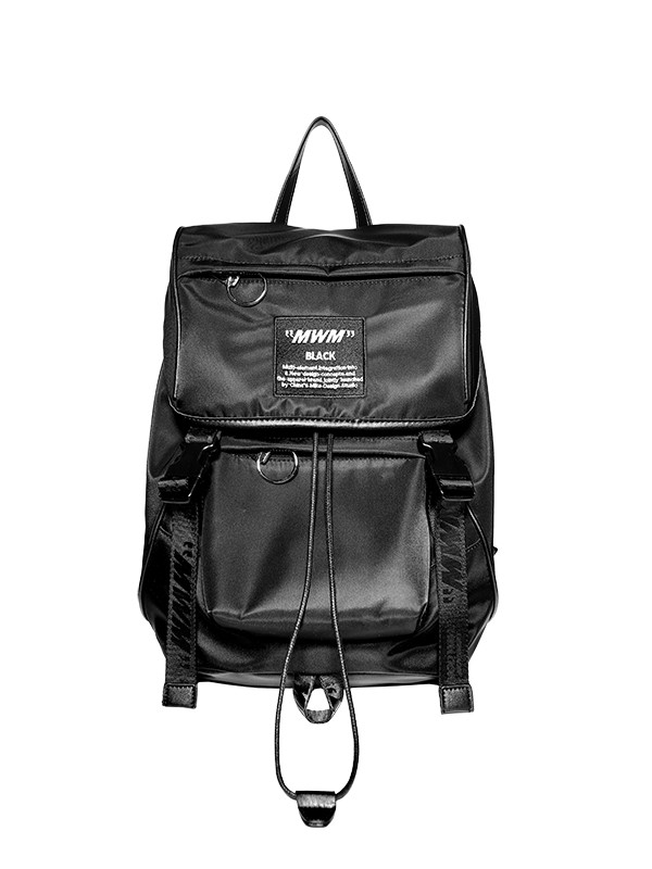 MW040210528 LEATHER BACKPACK